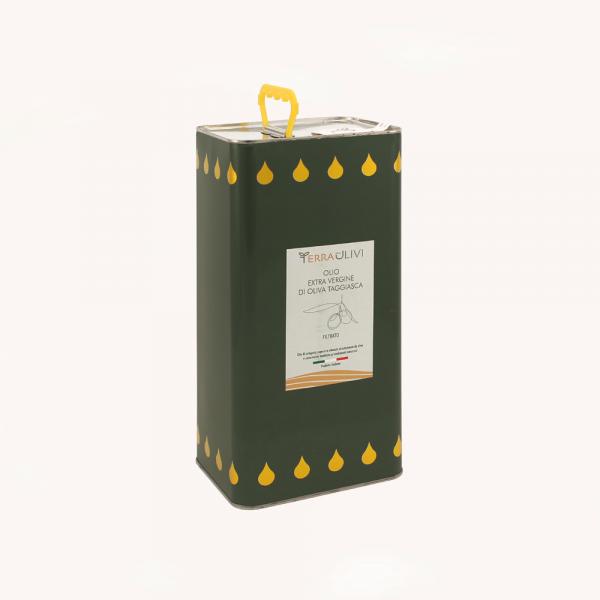 Latta olio extravergine filtrato 5 litri