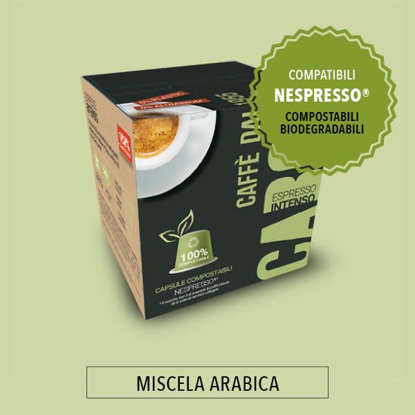 capsule caffè compostabili bio bronzo caffè caboto